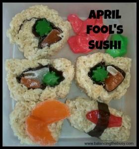 April Fool's Sushi