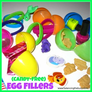 Candy Free Easter Egg Fillers