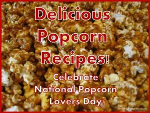 delicious popcorn recipes