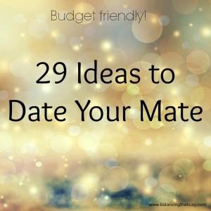 29 date ideas