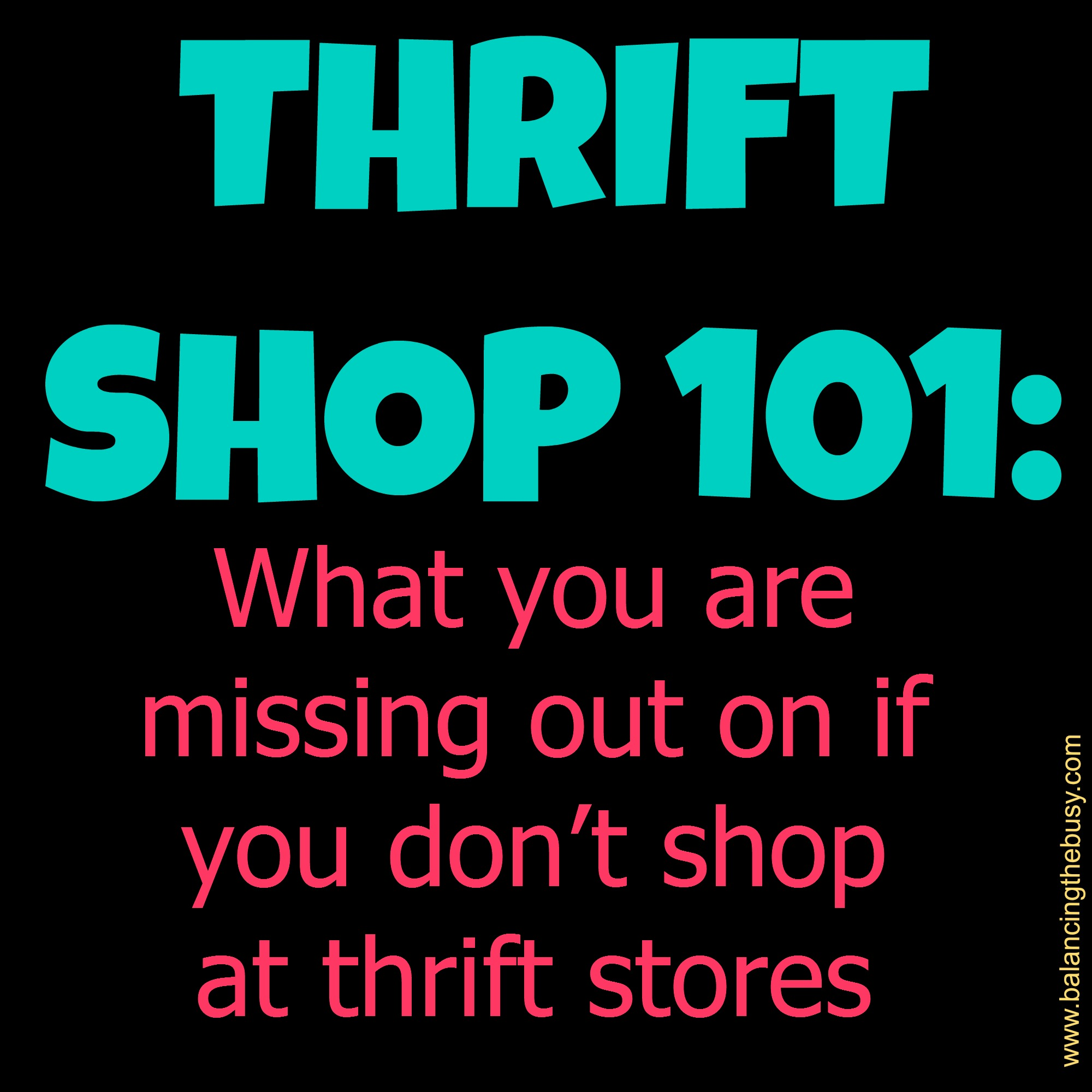 Do you get money for giving clothes to thrift stores