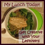 get creative with your leftovers